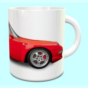 Porsche 911 993 RS Guards Red Mug