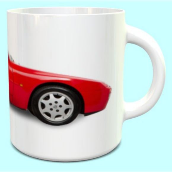 Porsche 944 Series 2 Mug Guards Red