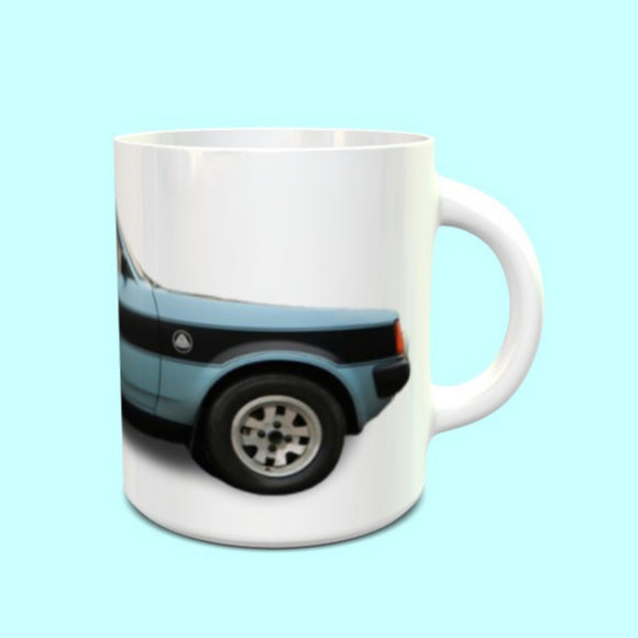 Talbot Sunbeam Lotus Mug Light metallic blue