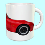 Porsche 924 GT Mug Guards Red