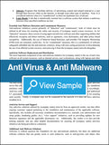 Anti-Virus and Anti-Malware Policy and Procedures