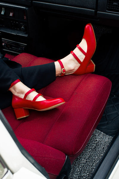 Ballerina shoes Red