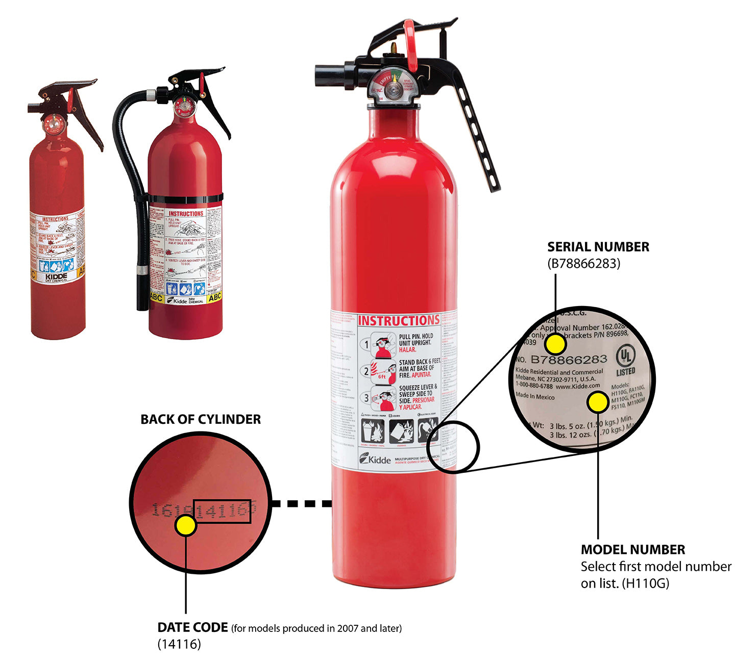 Recall Notice: Kidde Fire Extinguishers