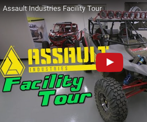 Side By Side Stuff Visits Assault Industries Facility