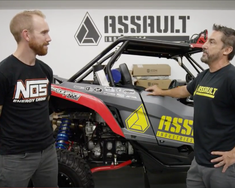 Watch: Assault Industries gets a visit from Garage Tours