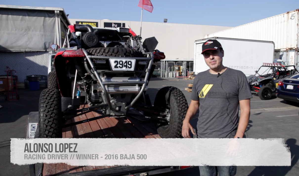 Alonso Lopez Tells Us About A Recent Race In Baja