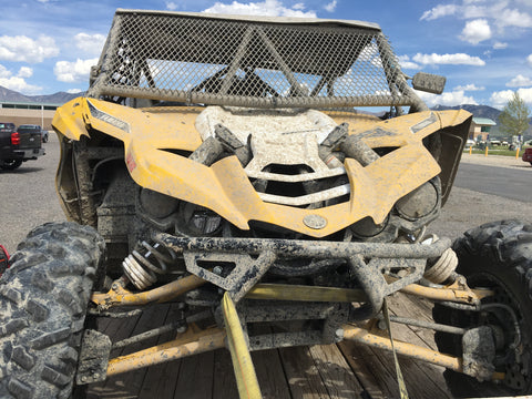 Yamaha YXZ after the crash