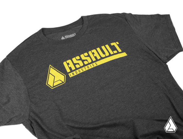 **NEW** Assault Industries Carbon Classic Logo Tee