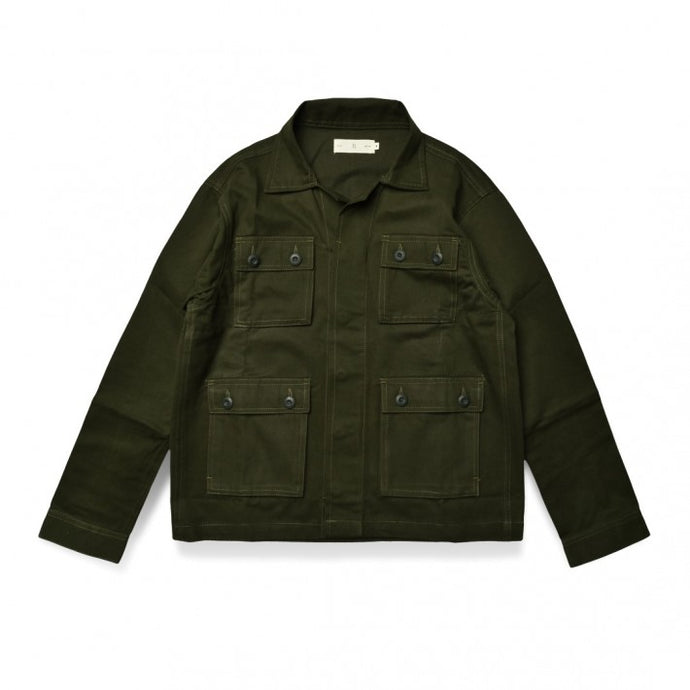 Dyakt Jacket Army Green