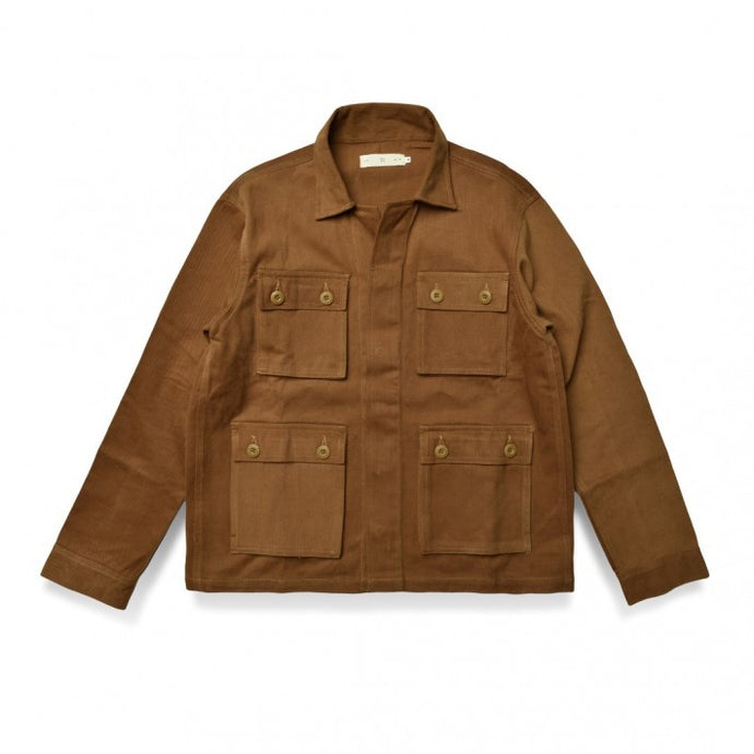 Dyakt Jacket Brown