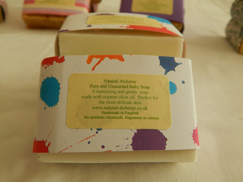 Pure & Unscented Baby Soap (75g approx)