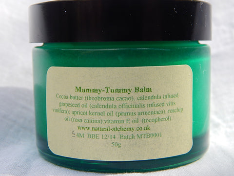 Mummy Tummy Balm (with organic cocoa butter)  (50g)