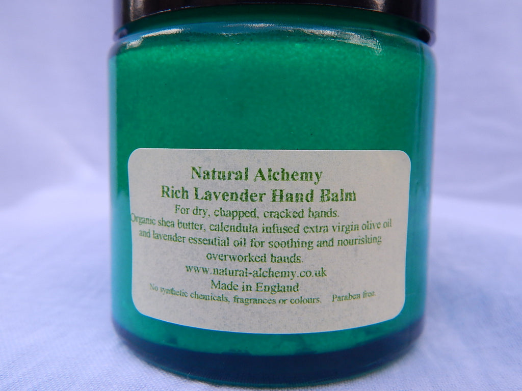 Rich Lavender Hand Balm (with organic shea butter) (50g)