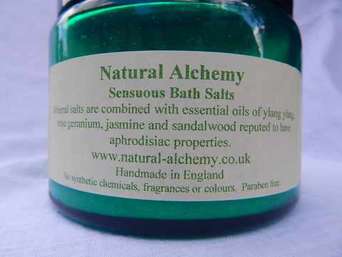 Sensuous Bath Salts (500g)