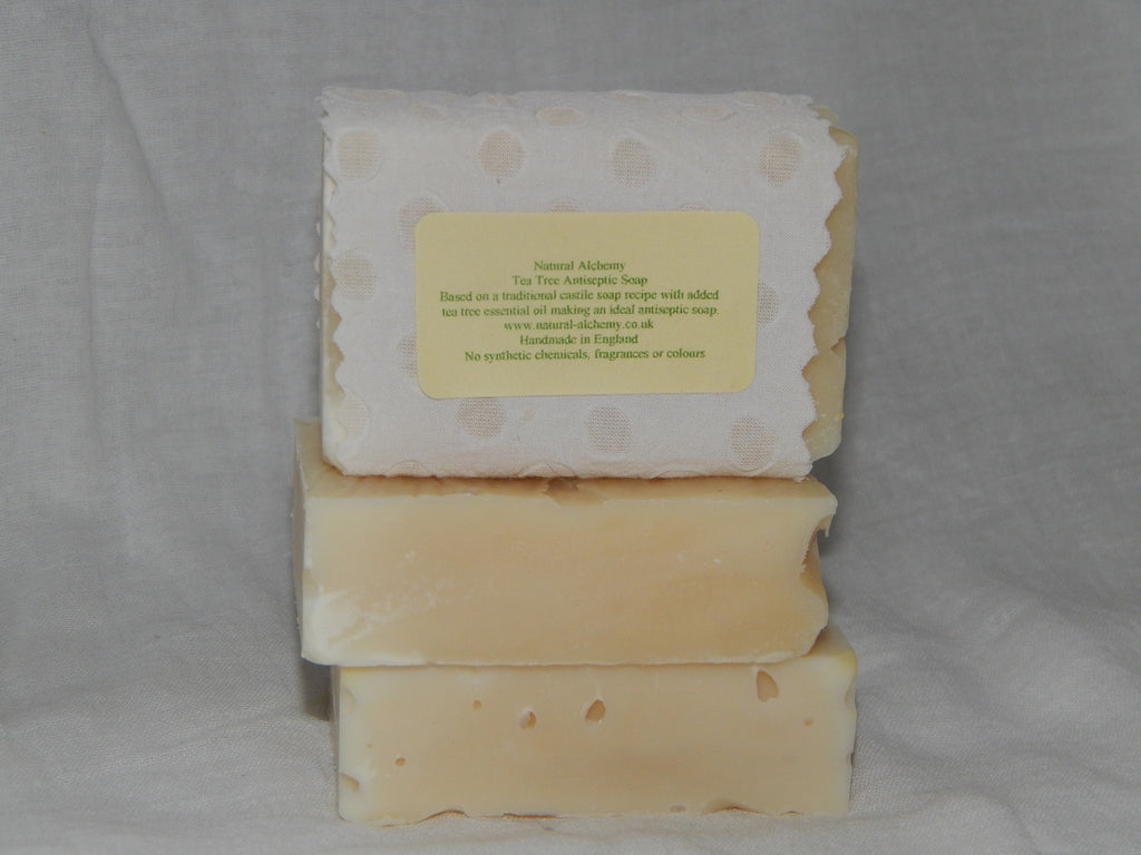 Tea Tree Antiseptic  Soap  (75g approx)