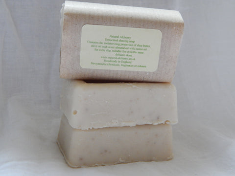 Unscented Shaving  Soap (50g approx)