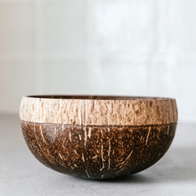 Load image into Gallery viewer, Shadow | Boho Coconut Bowl