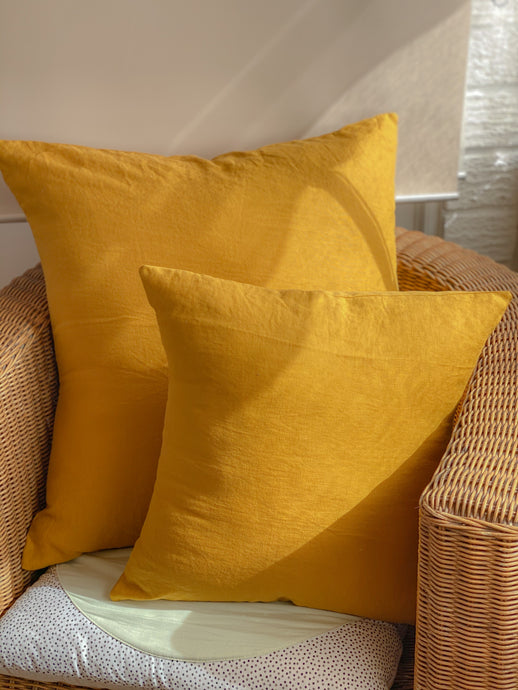 Linen Cushion Covers - 40x40cm
