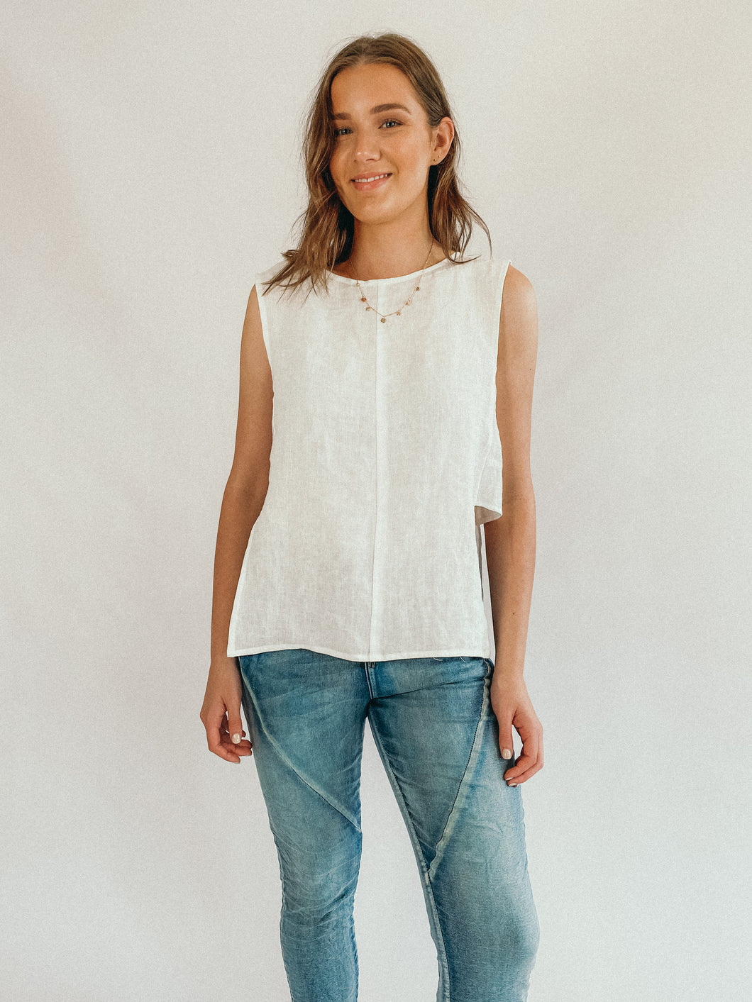 Amalfi Top - Chalk