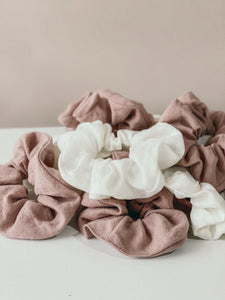 Jumbo Scrunchie - Chalk