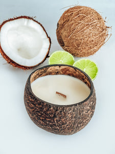 Coconut Candle- Coconut & Lime