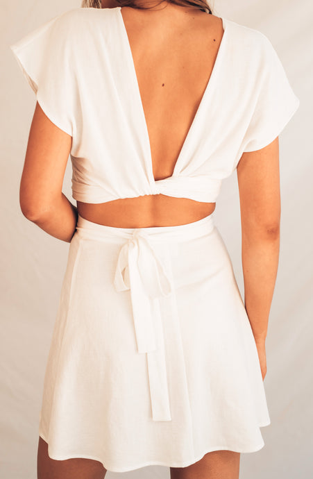 Wrap Top - White