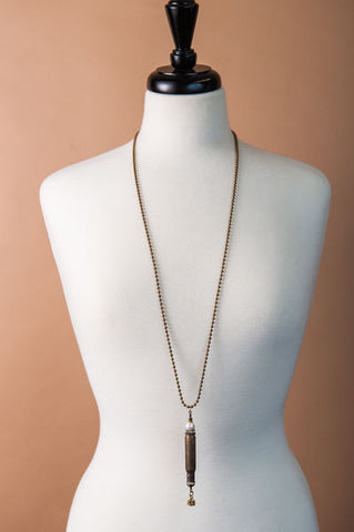 Bullet Pearl Necklace
