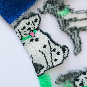 Dalmatian Sheer Socks - Available Soon