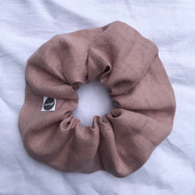 Load image into Gallery viewer, Blush Linen Scrunchie