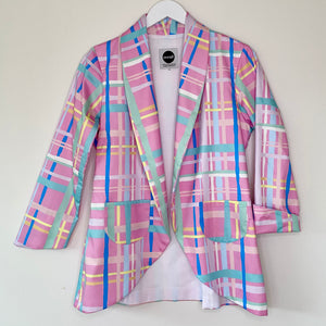 Pastel Dreams Plaid Jacket