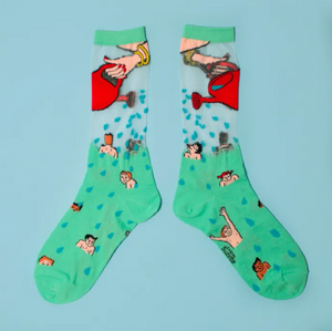 Gardening Sheer Socks