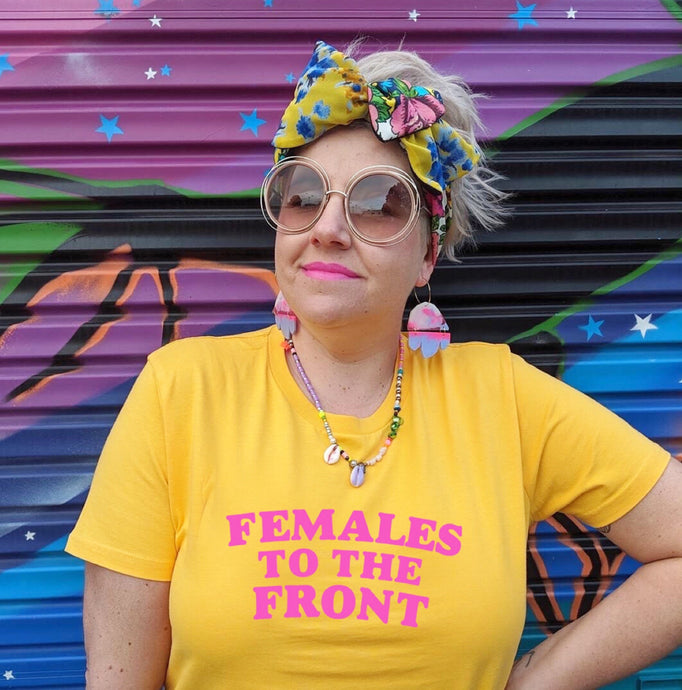 Females to the Front - Yellow