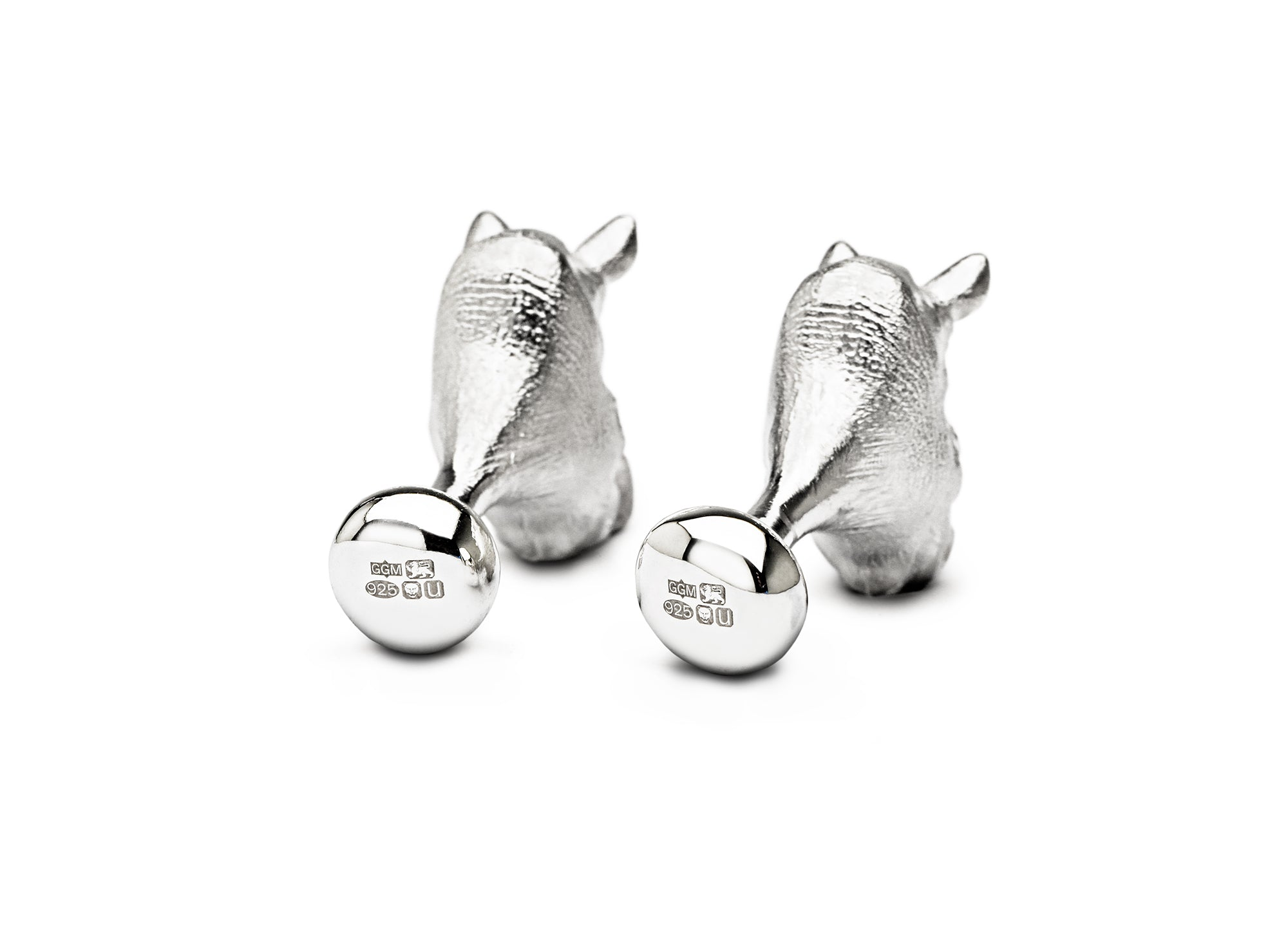 Kunene Rhino cufflinks for TUSK
