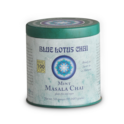 Blue Lotus Mint Masala Chai Tin 3 oz