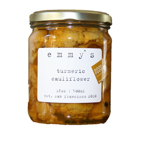 Emmy's Turmeric Cauliflower