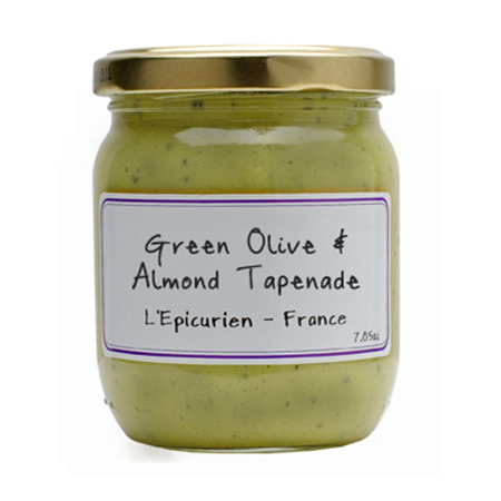 Green Olive & Almond Tapenade - France