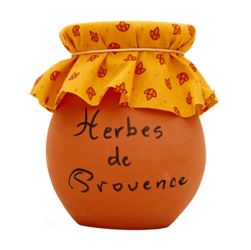 Herbs in Stone Jar - France