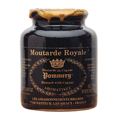 Pommery Cognac Grain Mustard in Stone Jar - France