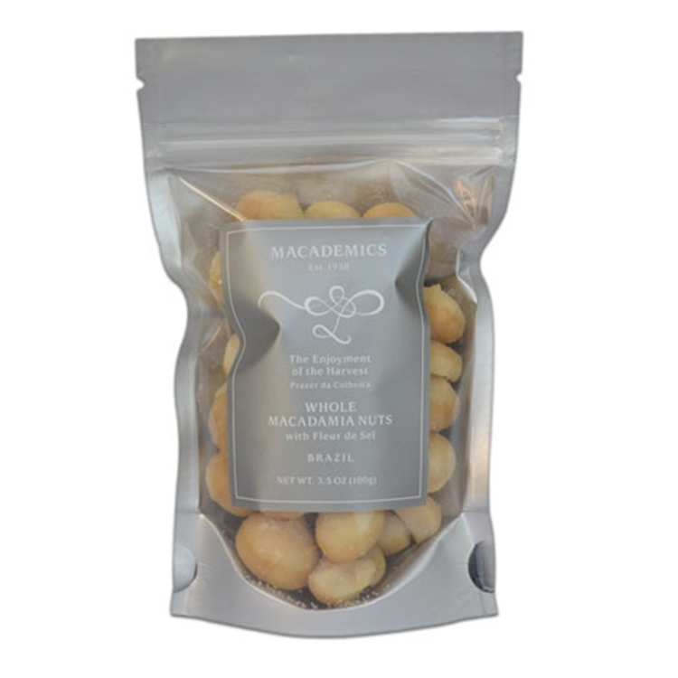 Whole Macadamia Nuts with Fleur de Sel