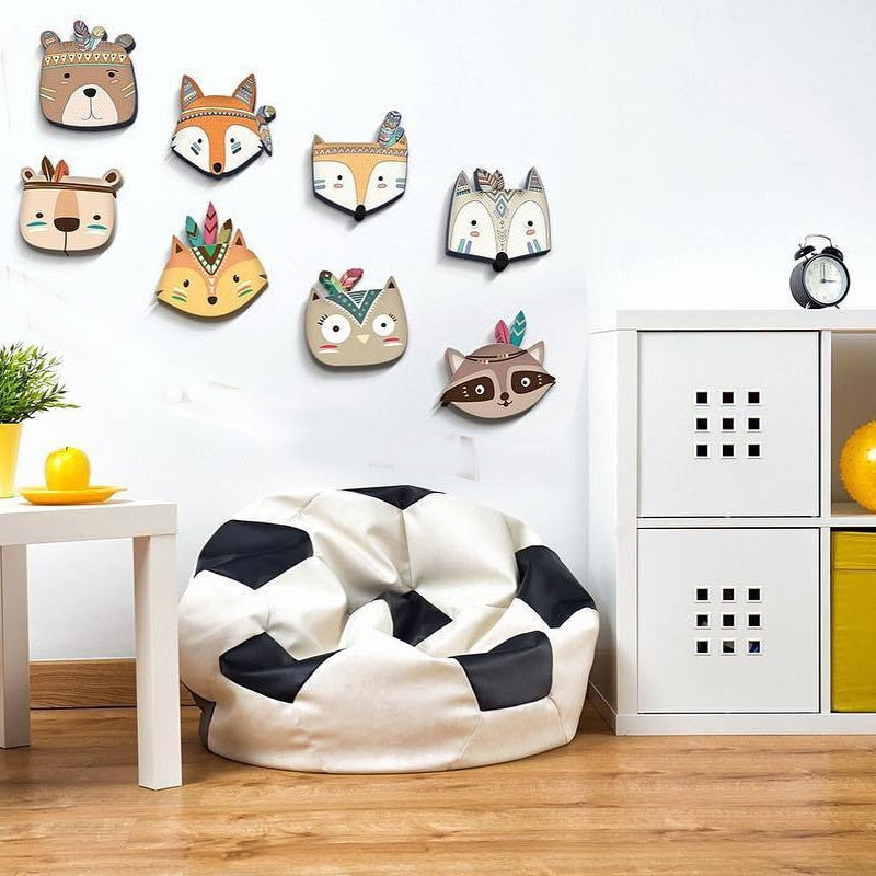 Wooden Animal Room Decoration Wall Mount Toys - ChicShines