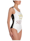 One-Piece Bride Squad Swimsuit - ChicShines
