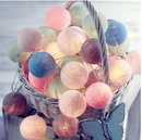 LED Cotton Garland Ball Light String - ChicShines