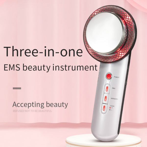 3 in 1 Ultrasonic Body Slimming Massager - With Anti Cellulite Cream