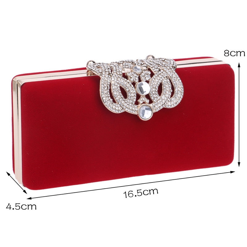 Classic Crown  Clutch - ChicShines