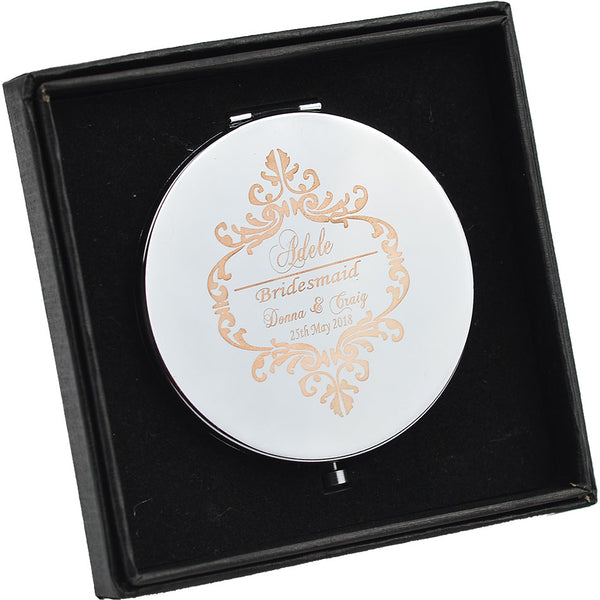 Compact Mirror - Bridesmaid Favour - ChicShines