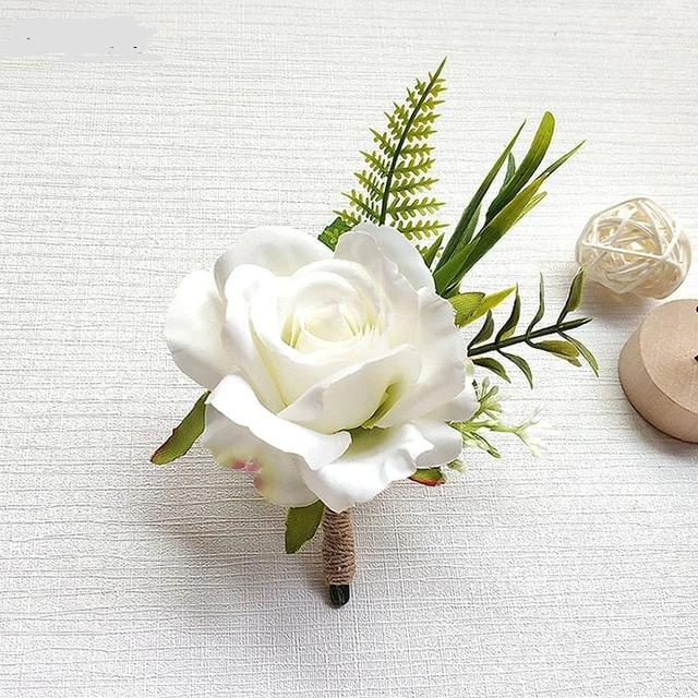 Rose Boutonniere - Corsage - ChicShines