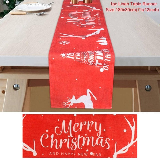 Christmas Table Runner - ChicShines