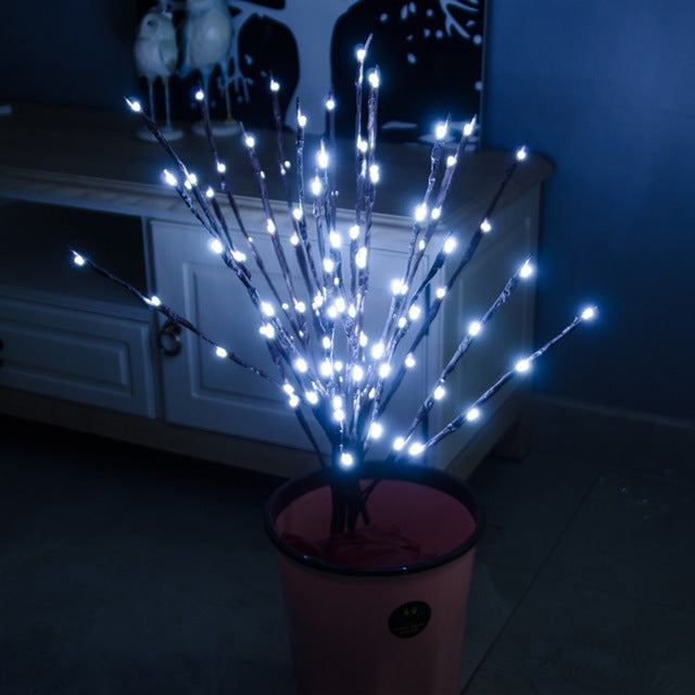 LED Branch Lamp - Battery Powered - ChicShines