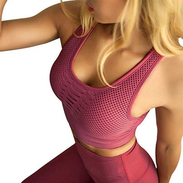 RacerBack Sports Bra - ChicShines