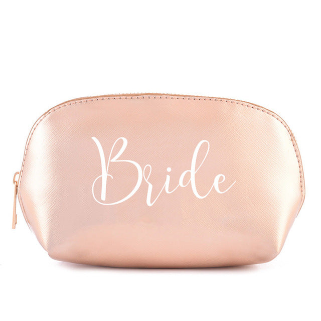 Bridesmaid Gift MakeUp Bag - Personalised - ChicShines